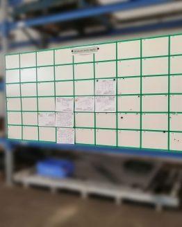 Informační tabule magnetická